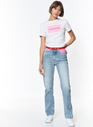 Calvin Klein Jean Pantolon | Straight Pembe